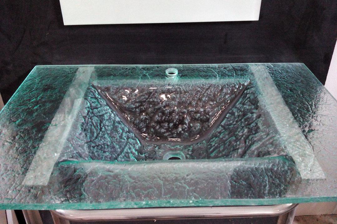 Lavabos cristal for Lavamanos de cristal